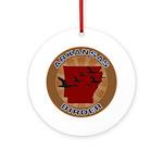 Arkansas Birder Ornament (Round)