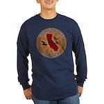 California Birder Long Sleeve Dark T-Shirt