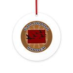 Colorado Birder Ornament (Round)