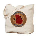 Georgia Birder Tote Bag