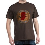 Indiana Birder Dark T-Shirt