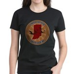 Indiana Birder Women's Dark T-Shirt