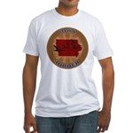 Iowa Birder Fitted T-Shirt