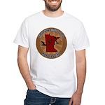 Minnesota Birder White T-Shirt