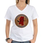 Mississippi Birder Women's V-Neck T-Shirt