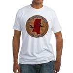 Mississippi Birder Fitted T-Shirt