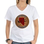 Nevada Birder Women's V-Neck T-Shirt
