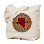 Nevada Birder Tote Bag