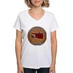 Oklahoma Birder Women's V-Neck T-Shirt
