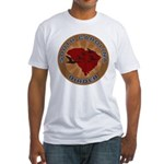 South Carolina Birder Fitted T-Shirt