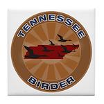 Tennessee Birder Tile Coaster