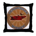 Tennessee Birder Throw Pillow