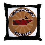 Tennessee Birder Throw Pillow