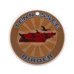 Tennessee Birder Ornament (Round)