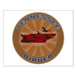 Tennessee Birder Small Poster