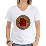 Utah Birder Women's V-Neck T-Shirt