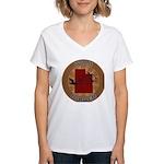 Utah Birder Women's V-Neck T-Shirt