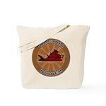 Virginia Birder Tote Bag