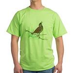 Fuertes' Meadowlark Green T-Shirt