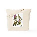 Fuertes' Waxwings Tote Bag