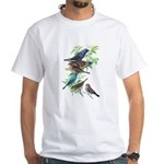 Grosbeaks & Buntings White T-Shirt