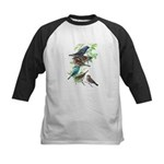 Grosbeaks & Buntings Kids Baseball Jersey