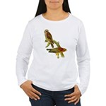 Red-shouldered Hawk Women's Long Sleeve T-Shirt