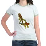 Red-shouldered Hawk Jr. Ringer T-Shirt