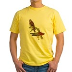 Red-shouldered Hawk Yellow T-Shirt