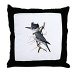 Fuertes' Kingfisher Throw Pillow
