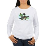 Belted Kingfisher Women's Long Sleeve T-Shirt