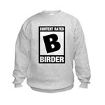 Rated B: Birder Kids Sweatshirt