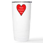 Valentine's Day Heart Stainless Steel Travel Mug