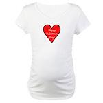 Valentine's Day Heart Maternity T-Shirt