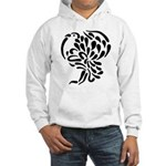 Stylized Turkey Hooded Sweatshirt