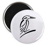 Stylized Kingfisher Magnet