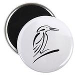 Stylized Kingfisher Magnet