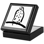 Stylized Raptor Keepsake Box