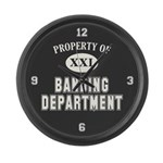 Property of Banding Dept Large Wall Clock