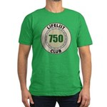 Lifelist Club - 750 Men's Fitted T-Shirt (dark)