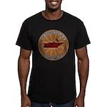 Tennessee Birder Men's Fitted T-Shirt (dark)