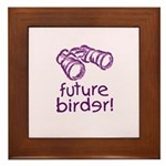 Future Birder Framed Tile