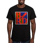 Pop Art Bird Men's Fitted T-Shirt (dark)