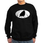 Warbler Oval Sweatshirt (dark)