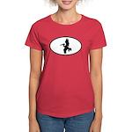 Pelican Oval Women's Dark T-Shirt