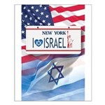 New York Loves Israel Small Poster