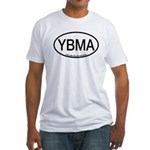 YBMA Yellow-billed Magpie Alpha Code Fitted T-Shir