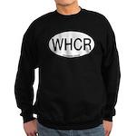 WHCR Whooping Crane Alpha Code Sweatshirt (dark)