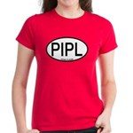 PIPL Piping Plover Alpha Code Women's Dark T-Shirt
