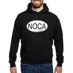 NOCA Northern Cardinal Alpha Code Hoodie (dark)